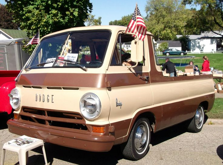 Me & my dads old 1965 dodge a-100