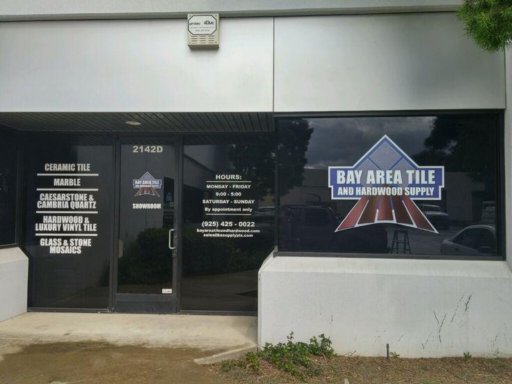 Custom exterior sign for Bay Area Tile and Hardwood Supply   Exterior Signage | Custom Signs   Insignia Designs Pleasanton, CA