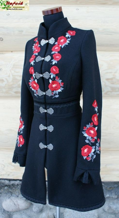 ANother coat inspired by polish #Folk #podhale