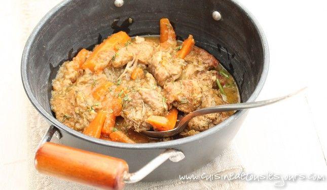 Un plat de veau qui nécessite de mijoter pendant 45 minutes mais qui tient toutes ses promesses en matière de saveurs et parfums.
