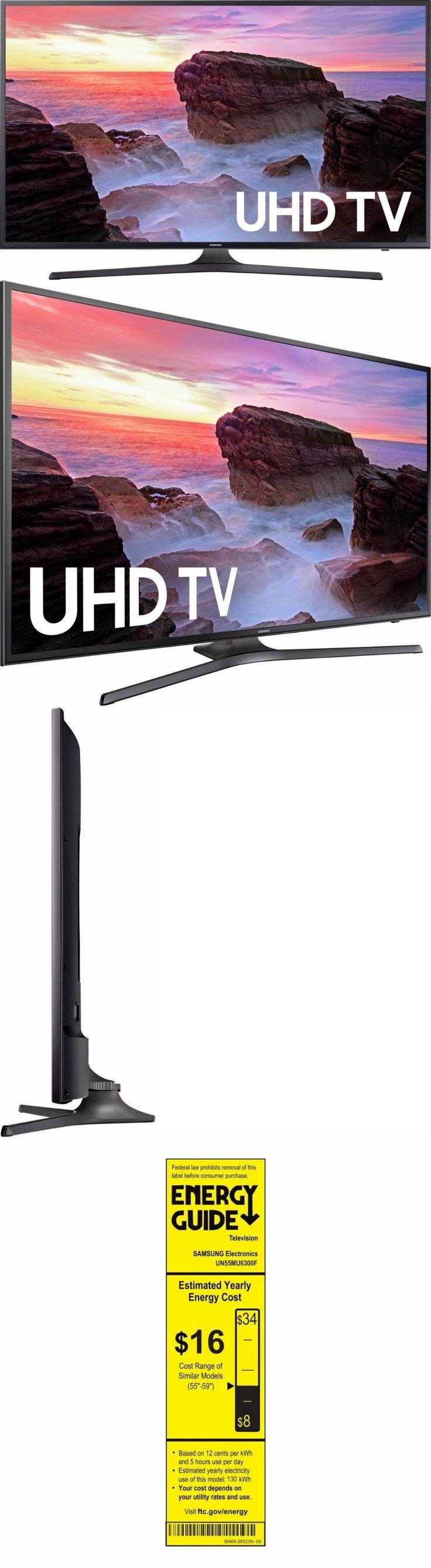 Televisions: Samsung 55 Inch 4K Ultra Hd Smart Tv Un55mu6300f Uhd Tv Brand New -> BUY IT NOW ONLY: $637.95 on eBay!