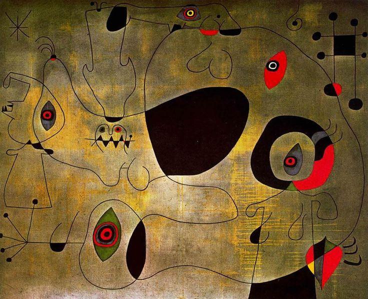 Joan Miro Painting of Toledo | Joan Miro Port
