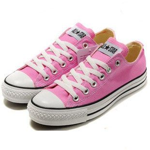 reminds me of the pink converse I had and  all Pink Shoes under $40 when we went to Boston I refused to take them off :) I want another pair ! :)        #cheap #converse #Sneakers