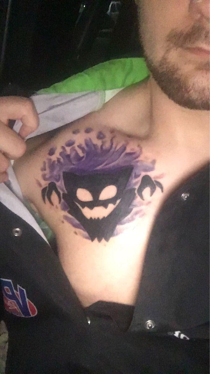 I Got a Gengar Tattoo!
