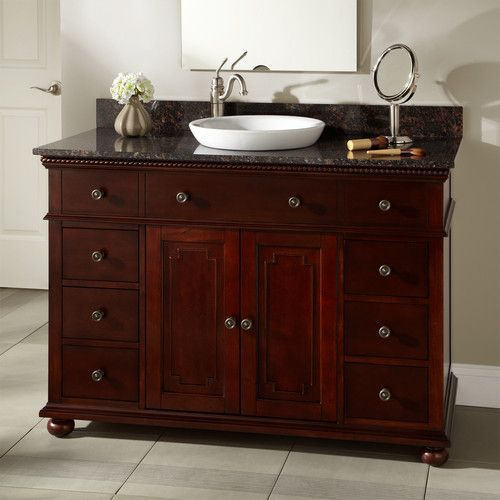 Vanity With Offset Sink : vannity and love the sink!!! 48