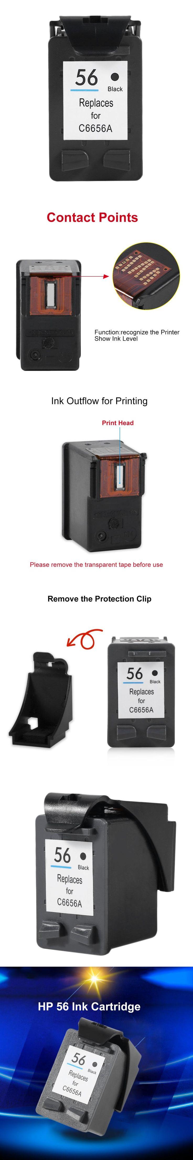 For HP 56 ink Cartridge HP56 For HP Deskjet 5150 450CI 5550 5650 7760 9650 PSC