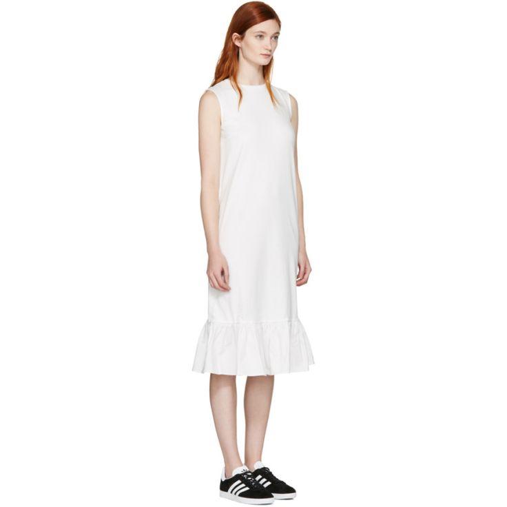 Edit - White Peplum Dress
