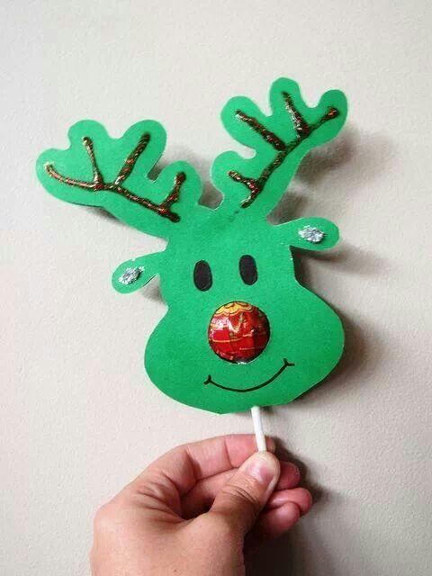 Reindeer Lollipop Cover  http://missymaccreations.blogspot.com/2012/12/ttt-christmas-gifts-for-kids-from-kids.html