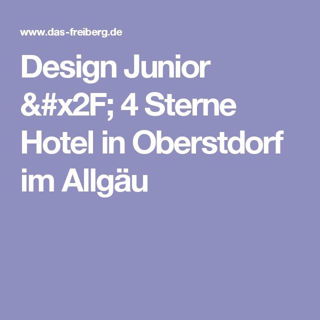 Design Junior / 4 Sterne Hotel in Oberstdorf im Allgäu