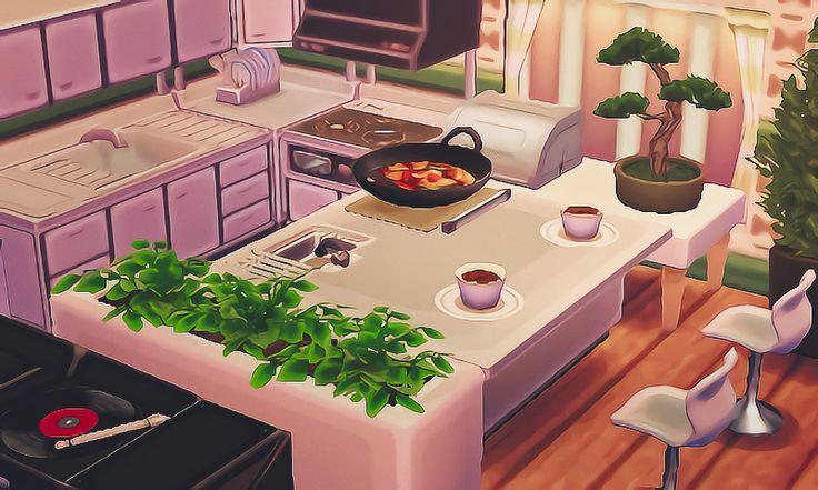 327 best ACNL inspiration images on Pinterest   Animal ... on Animal Crossing Kitchen Ideas  id=30348