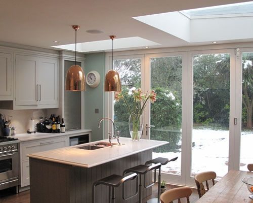 Small Kitchen Extension Ideas Before And After