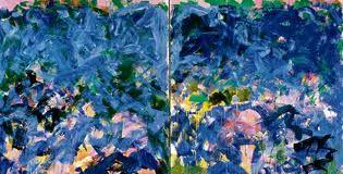 Tweeluik blauw roze