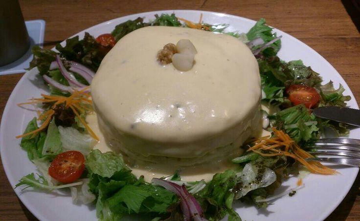 チーズのパンケーキ