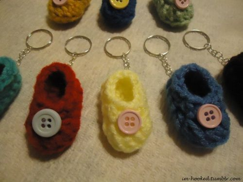 Crochet Baby Shower Favors To Make ~ I m hooked diy baby shower favors crochet