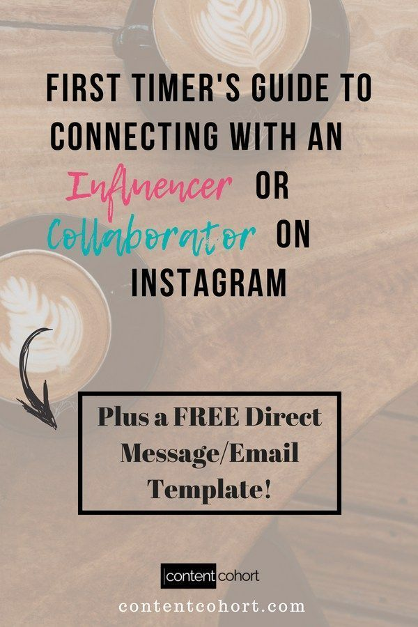 First Timer S Guide To Connecting With An Influencer Or Collaborator On Instagram Susan Shannon Instagram Marketing Strategy Instagram Marketing Tips Social Media Branding