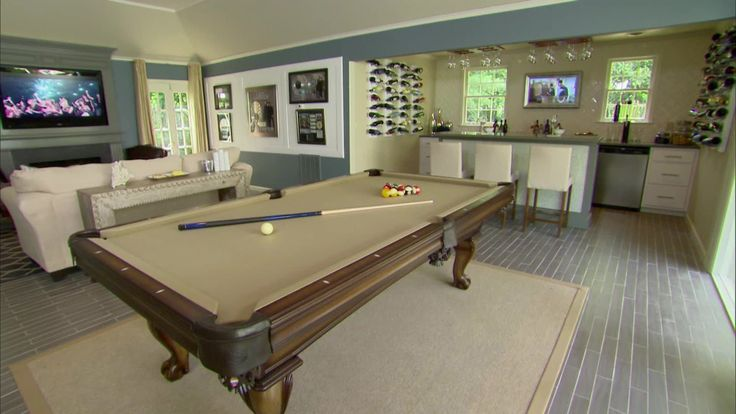 Fascinating Pool Table Living Room