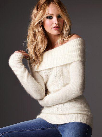 cute: Tunics Sweaters, Candice Swanepoel, Cute Sweaters, Angora Sweaters, Victoria Secret, Winter Sweaters, Christmas Sweaters, Cozy Sweaters, Angora Tunics