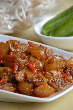 Diah Didi's Kitchen: Oseng Kikil Mercon..Pedasnya Cetar Membahana..^_^