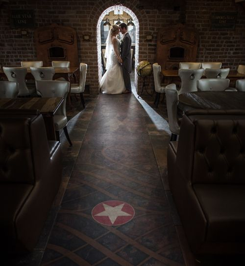 Stunning wedding at 30 James Street - the new Titanic hotel in Liverpool.