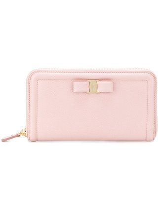 Salvatore Ferragamo Vara zip wallet
