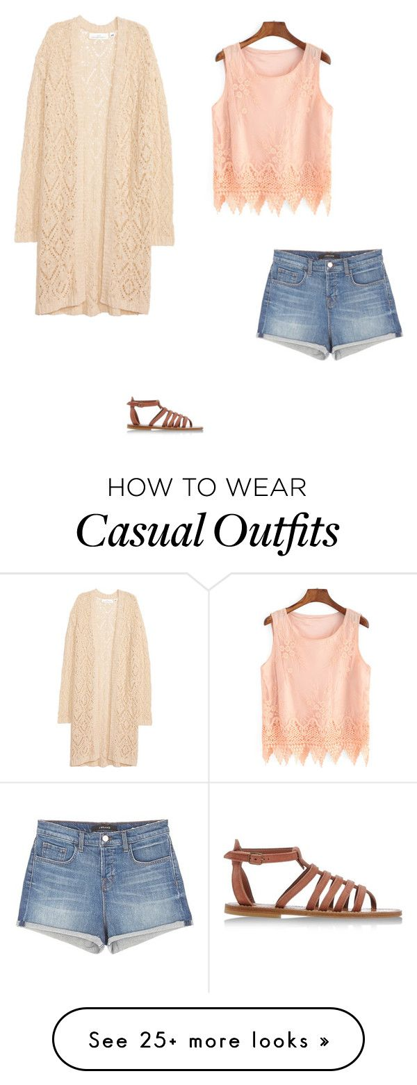 """""""Casual Summer"""" by nalissa on Polyvore featuring J Brand and K. Jacques"""