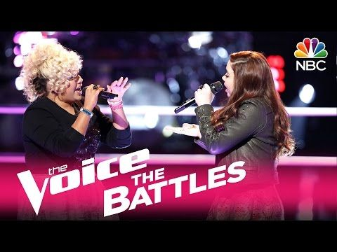 "The Voice 2017 Battle - Aaliyah Rose vs. Savannah Leighton: ""Treat You Better"" - YouTube"