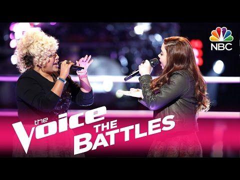 """The Voice 2017 Battle - Aaliyah Rose vs. Savannah Leighton: """"Treat You Better"""" - YouTube"""