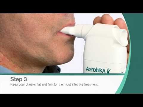 ▶ How to Use the Aerobika* Oscillating Postitive Expiratory Pressure Therapy System - YouTube