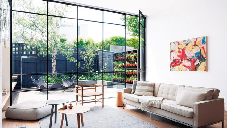 Black-frame windows & doors: getting them right. Photography by Shannon Mcgrath.