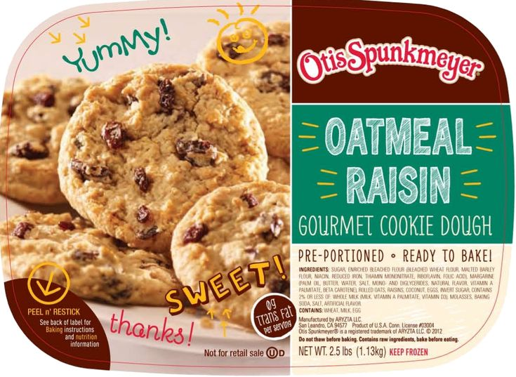11 best Otis Spunkmeyer Cookie Dough images on Pinterest ...