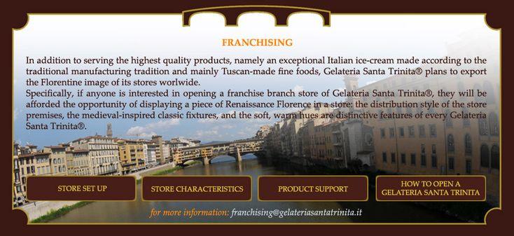 Gelateria Santa Trinita ®   Franchising