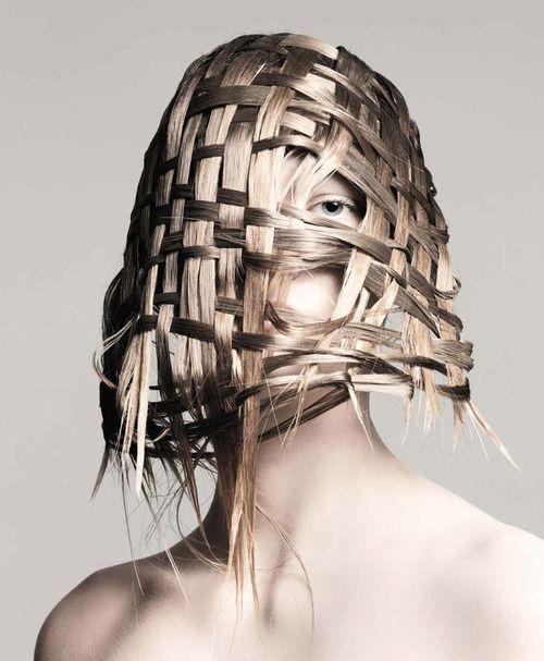 ' Skalpturen ' Guido Palau peluquero para Interview Magazine...