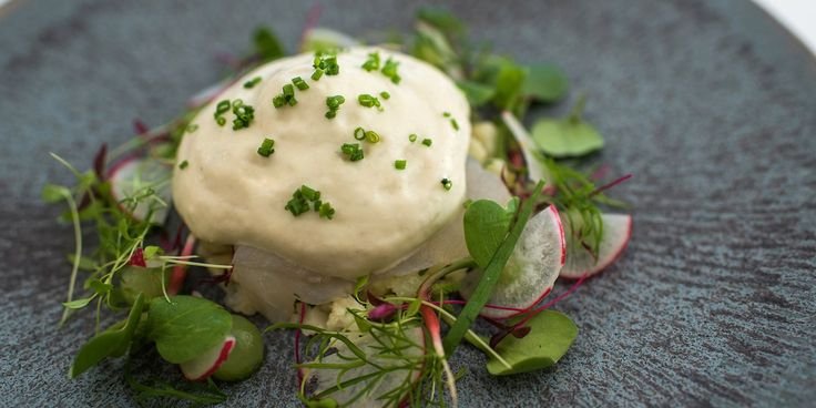 A delicious monkfish starter recipe from chef Geoffrey Smeddle. The chef smokes the fish before serving with a healthy lemon and herb caulif...