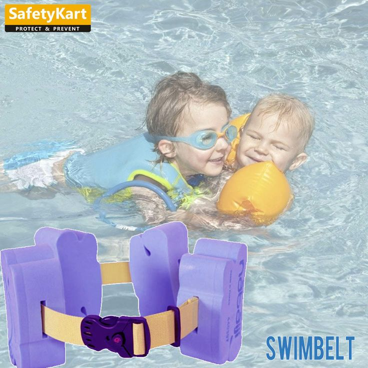 Designed to assist children with their first movements in water.