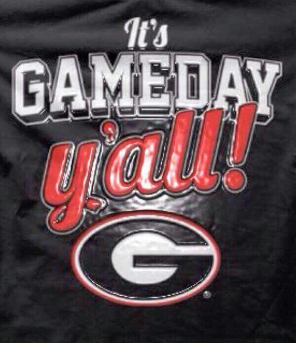 Finally it's game day 2015.... Go Dawgs!