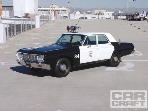 Santa Monica Police Department 39 S 1964 Plymouth Savoy Is