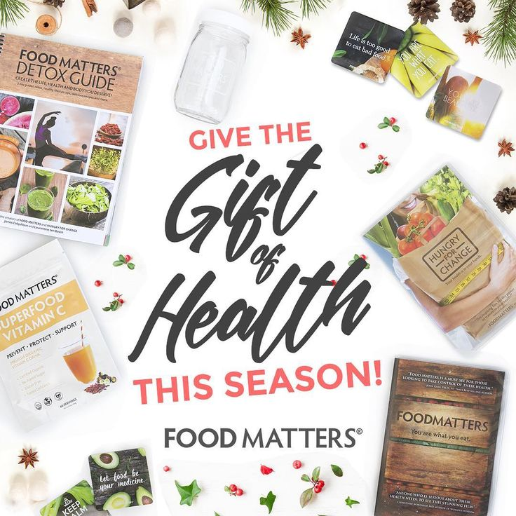 On The Hunt For Healthy Gift Ideas Check Out Food Matters Holiday Shop Weve Put Together Perfect Packs Your Loved Ones