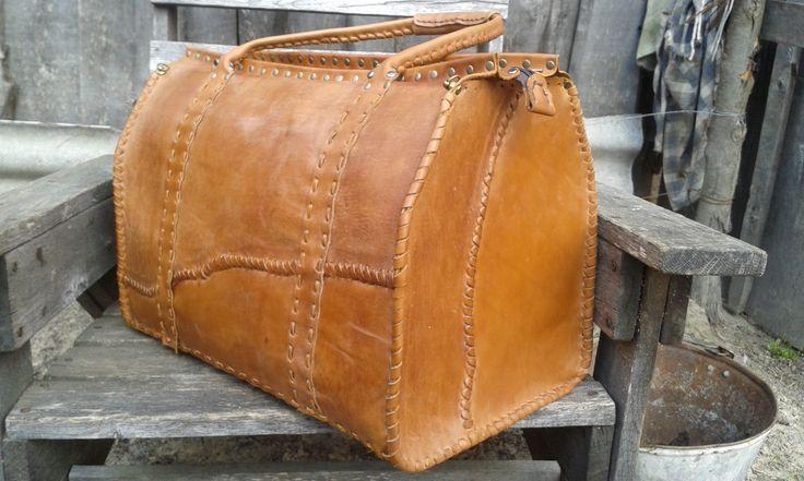 travel bag handmade