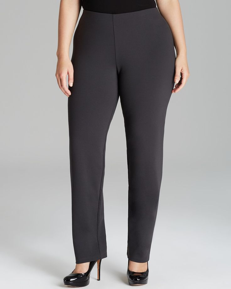 Eileen Fisher Plus Size Slim Pants