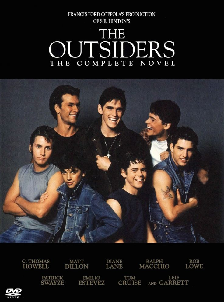"""The Outsiders"" > 1983 > Directed by: Francis Ford Coppola > Crime / Drama / Coming-of-Age / Teen Movie"