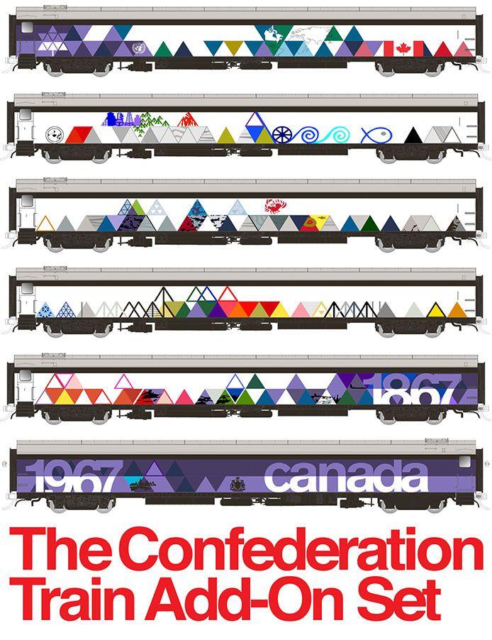 HO scale Confederation Add-on set