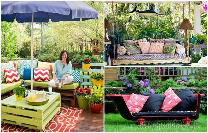 Чудесные идеи обустройства летнего патио, которое станет любимым местом для отдыха всей семьи