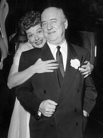 Lucille Ball and William Frawley