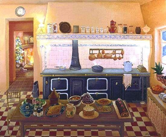 christmas dinner by a fire | Monique Valdeneige - еще немного. Обсуждение на ...: