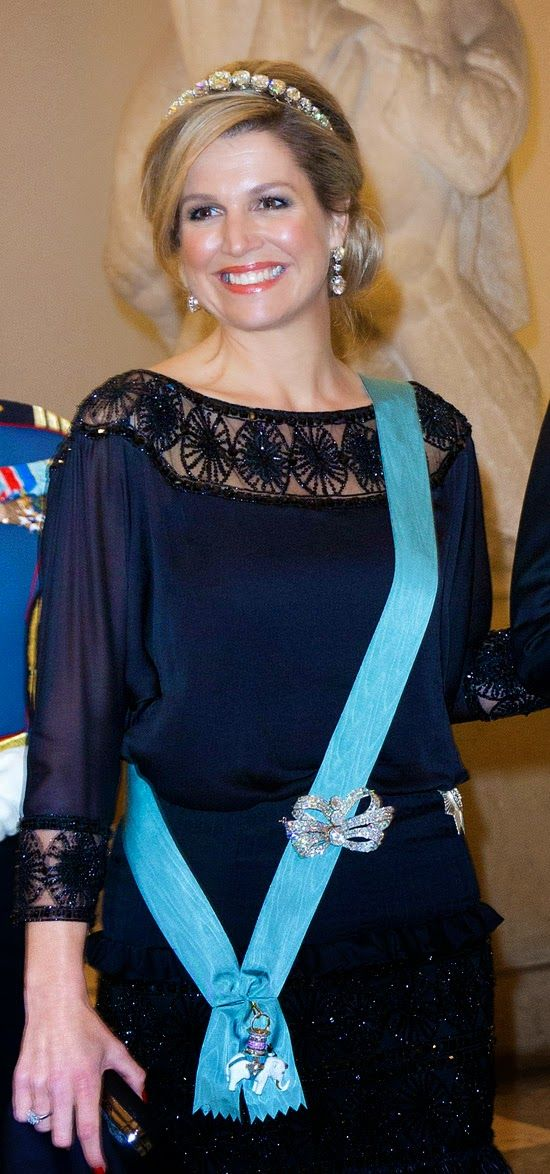 !! REAL- MY ROYALS !!: Queen Margrethe's 75th Birthday Celebrations - Dinner at Christiansborg Palace