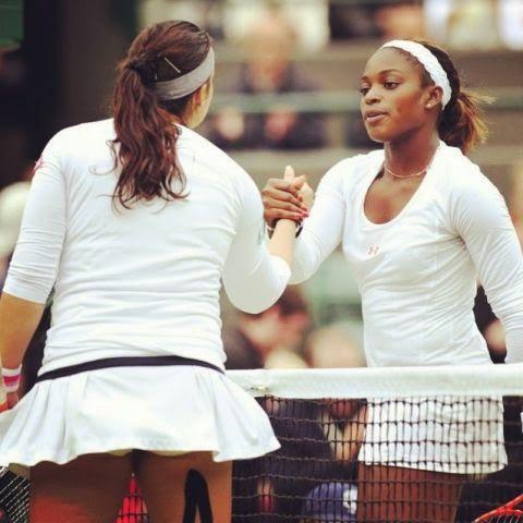 Marion Bartoli, Sloane Stephens - Wimbledon