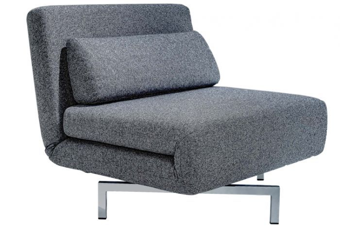 S Chair Charcoal Tweeds Convertible Chair Bed Sleeper In 2020 Chair Sofa Bed Chair Bed Futon Chair