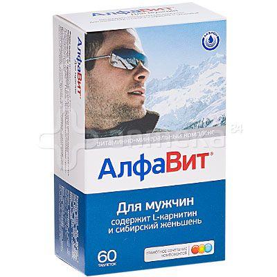 Алфавит для мужчин №60 таблетки / Витамины для мужчин / Витамины / Каталог / Аптека №84. Доставка лекарств на дом и в офис.
