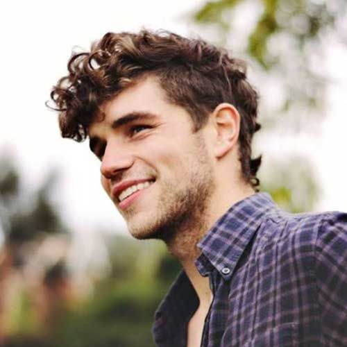 Curly Hair Of Men Is Pretentious In Styling Until You Find The Right Haircut  For Men And The Right Styling Products.