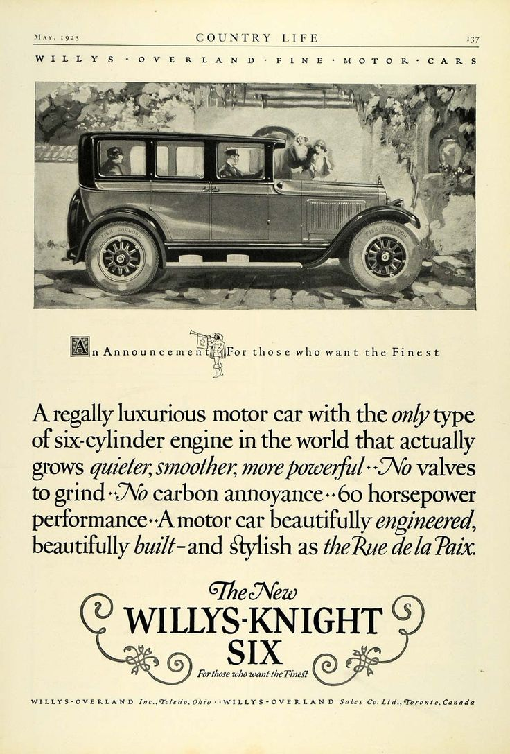 59 best Willys Car Ads images on Pinterest | Antique cars, Old ...